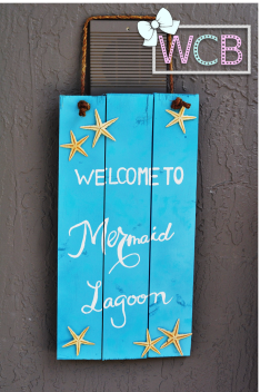 Mermaid Lagoon Sign WCB