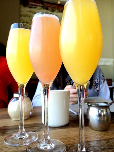 Mimosa heaven at Plow