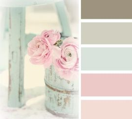 Craft Room Color Palette Inspiration