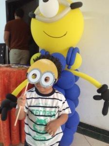 David as Yellow Minion
