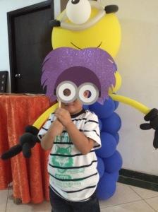 David as Purple Minion