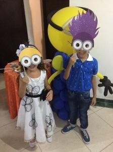 My goddaughter Silvana and David's cousin Gabriel