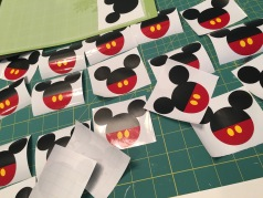 All the Mickeys slowly coming to life