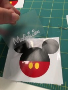 Using transfer (contact) paper to layer is the only way to live