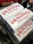 Boxes on boxes of Pralines making their way back to FL