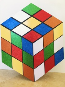 Rubik's from the front